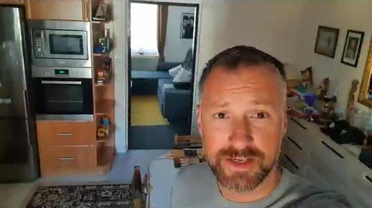 Petr Vágner je nyní na chalupě v karanténě.