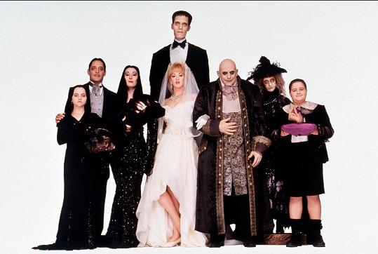 Hvězdy černé komedie Addamsova rodina