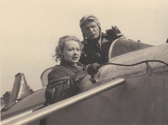 Truda milovala létání...