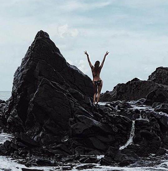 Halle Berry si vychutnává dovolevnou na ostrovech Francouzské Polynésie