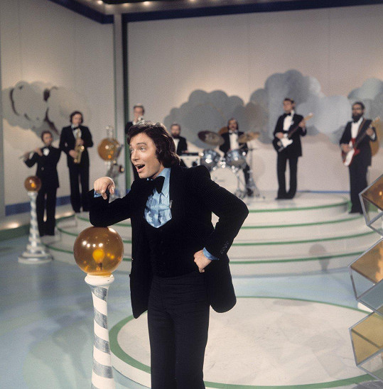 Karel Gott na snímku z roku 1974