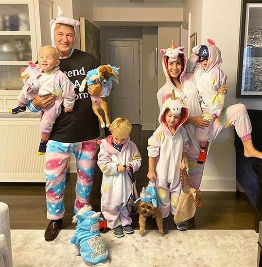S dětmi a psy před narozením nejmladšího Eduarda