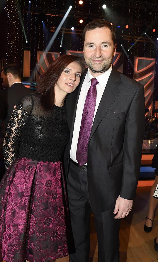 Nora Fridrichová s partnerem Robertem Zárubou, který ve StarDance tančil před 12 lety.