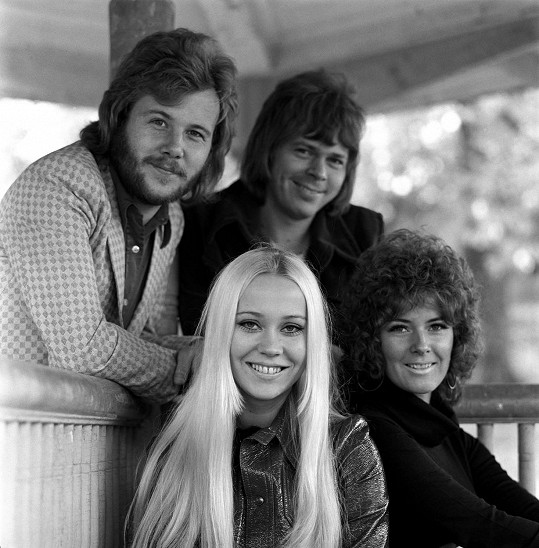 ABBA v začátcích kariéry.