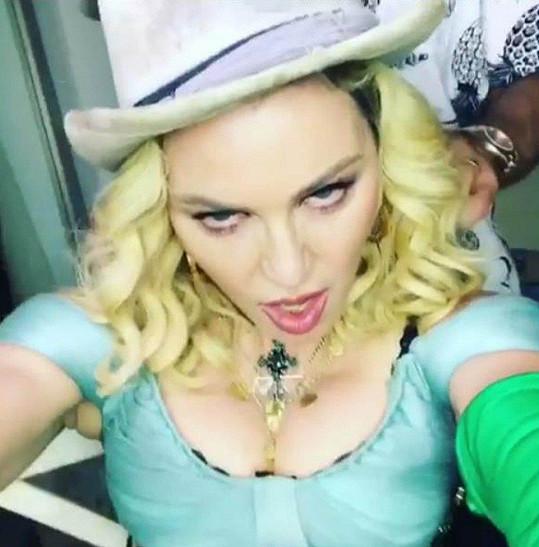 Madonna chce být stále sexy.
