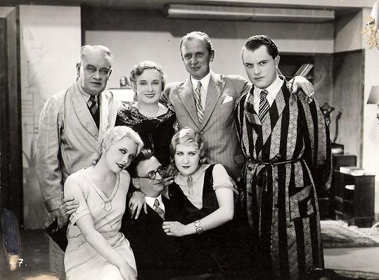 Právo na hřích (1932). Jedna z prvních rolí Zdeňky Baldové ve zvukovém filmu.