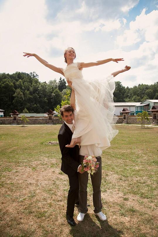 Při pohledu na tento snímek je asi zbytečné dodávat, že Marta je profesí baletka.