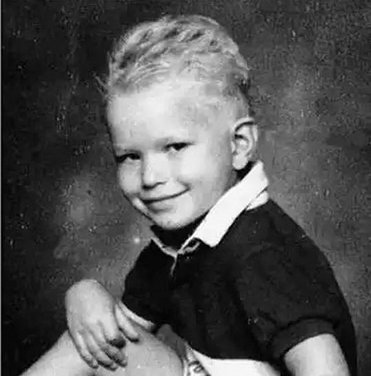 Kellan Lutz jako malý kluk