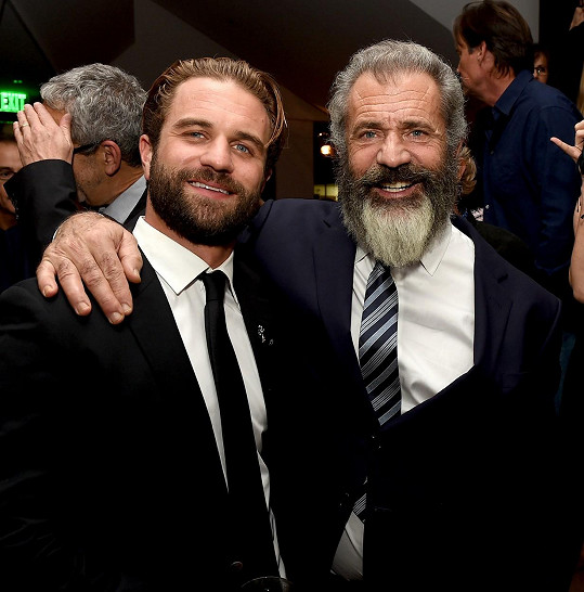 Mel Gibson se pochlubil synem.