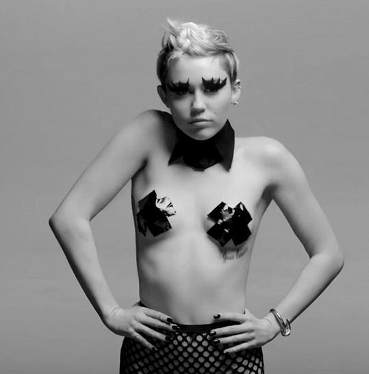 Miley chtěla hlavně šokovat.
