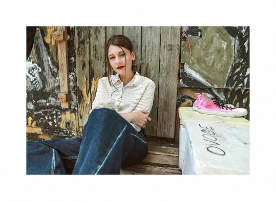 Kateřina Marie Tichá vydává první klip k písni Sami.
