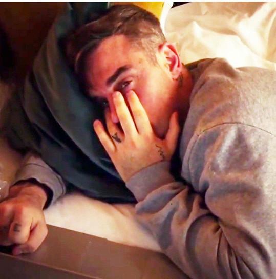 Robbie Williams bojuje s vnitřními démony.