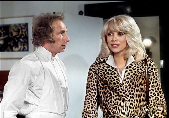 S Pierrem Richardem v komedii Velký blondýn s černou botou