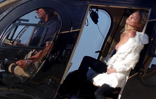 Poslední zakázka královny modelingu Kate Moss