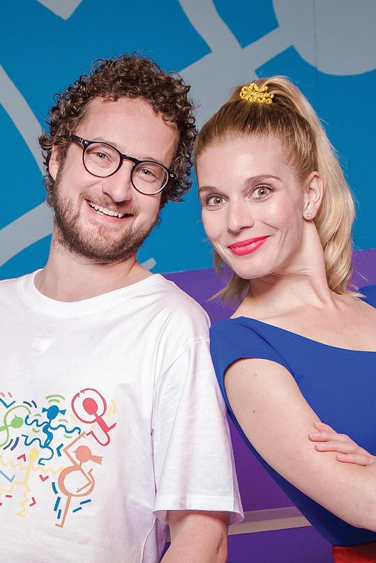 Henrieta připravila pořad pro dětskou televizi Déčko.