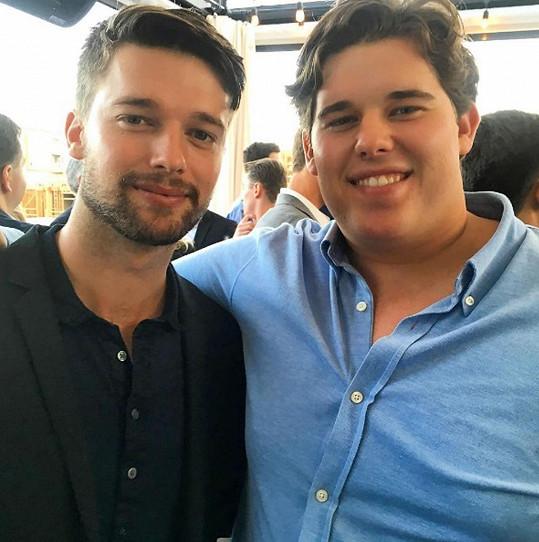 Christopher s bratrem Patrickem