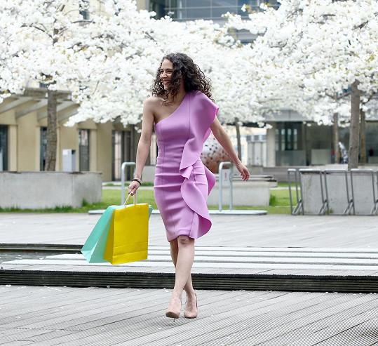 """""""Nemám ráda nakupování, když nevím, co chci,"""" říká Eva Burešová."""