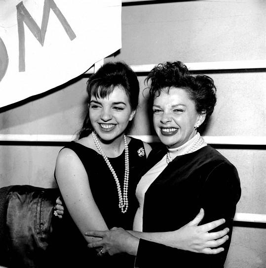 S maminkou Judy Garland