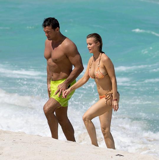 Joanna s manželem Romainem Zagem