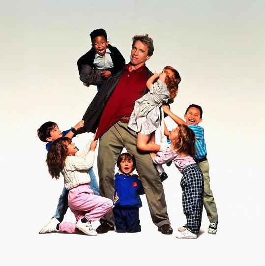 Když herec vstoupil do třídy plné dětí, pěkně mu zatrnulo.
