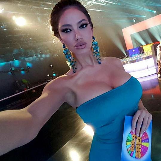 Soraja Vučelić uvádí i televizní soutěž...