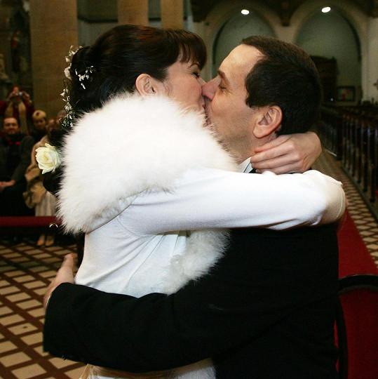 Veselka se konala v kostele.