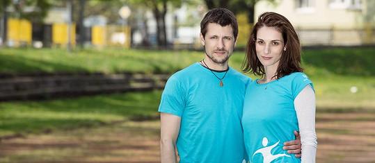 Zuzana Kanócz s partnerem Jurajem