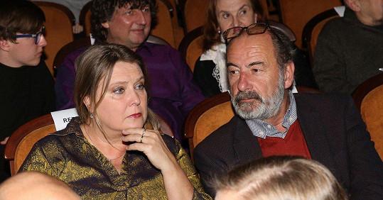 Kateřina Lojdová s manželem Michelem Fleischmannem