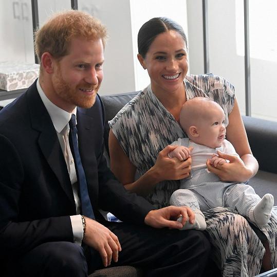 Syn vévody a vévodkyně ze Sussexu Archie slaví 1 rok.