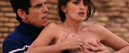 Ben Stiller si užil pikantní scénu.
