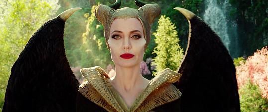 Jako Maleficent ve filmu Zloba: Královna všeho zlého