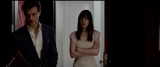 Johnson hraje s Jamiem Dornanem v trháku Padesát odstínů šedi.