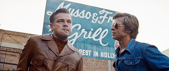 V rolích Cliffa Bootha a Ricka Daltona v Tenkrát v Hollywoodu excelovali.