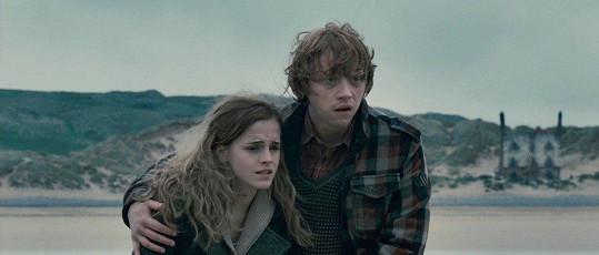 Rupert Grint a Emma Watson mají sourozenecký vztah. Líbací scény v Harrym Potterovi pro ně byly peklem.