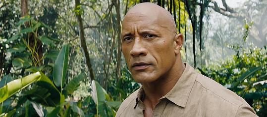 Herec Dwayne Johnson s přezdívkou The Rock obsadil 2. místo.