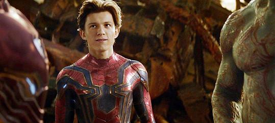 Mladý herec je třetím Spider-Manem.