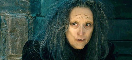 Meryl Streep ve filmu Čarovný les