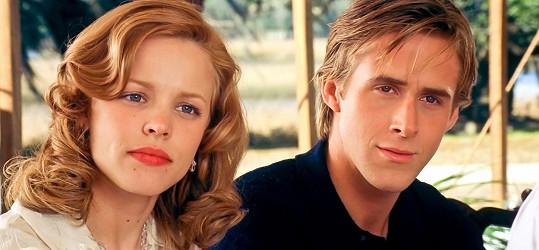 Ve filmu Zápisník jedné lásky s Ryanem Goslingem