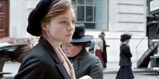 Carey Mulligan ve filmu Sufražetka