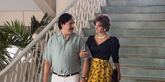 Penélope Cruz a Javier Bardem ve filmu Loving Pablo