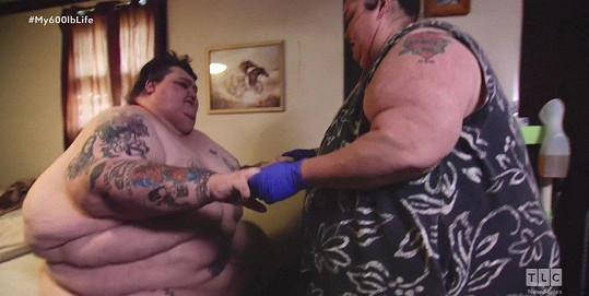 Lee a Rena společně zhubli čtvrt tuny.