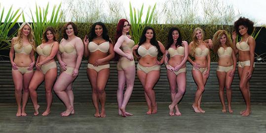 Některé finalistky se do soutěže pro plnoštíhlé modelky nejspíš dostaly omylem...