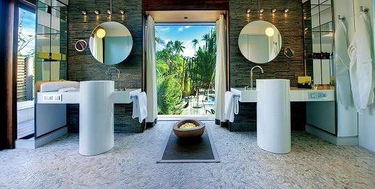 Takovou koupelnu by si přál každý.