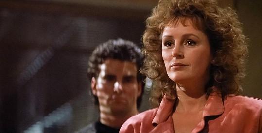 Bonnie si zahrála manželku hlavního hrdiny v podání Bruce Willise.