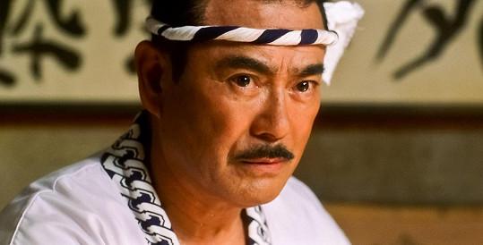 Sonny Chiba jako Hattori Hanzo v tarantinovce Kill Bill