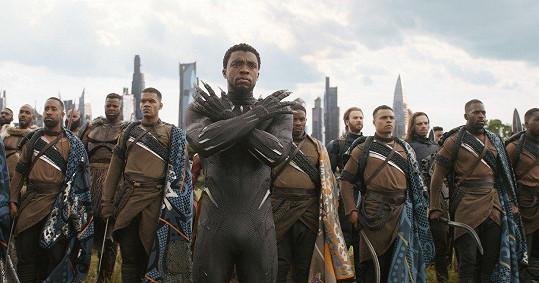 Herec letos vtrhnul do kin jako Black Panther.
