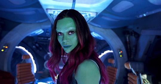Zoe se brzy předvede ve filmu Strážci Galaxie vol. 2