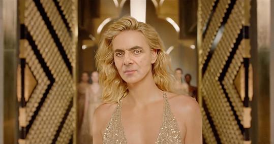 Jeho tvář se objevila v parodii na reklamu na parfém J'adore.