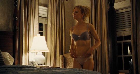 Nicole se ukázala ve spodním prádle.