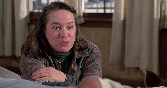 Kathy Bates získala za film Misery nechce zemřít (1990) Oscara.